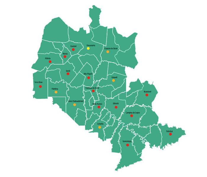 Bacias Hidrográficas do Piquiri e do Paraná II