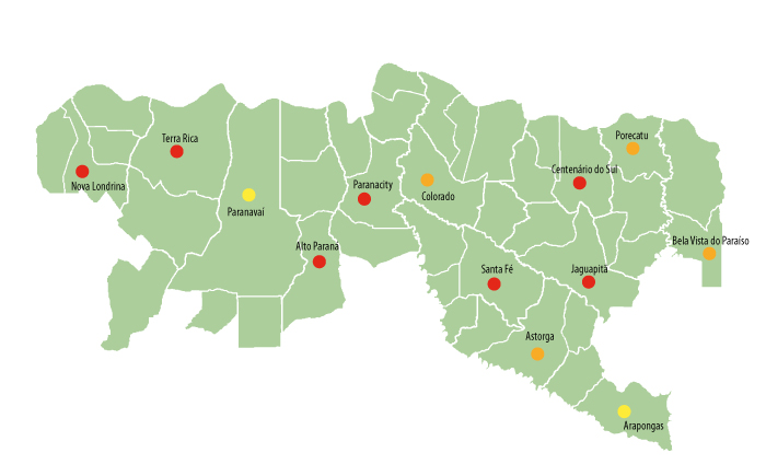 Bacias do Pirapó e do Paranapanema III e IV