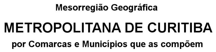 Legenda Metropolitana Curitiba