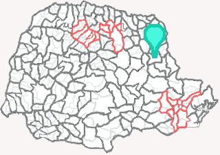 Comarca de Arapoti - Paraná