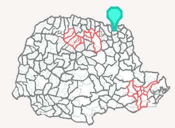 Comarca de Bandeirantes - Paraná