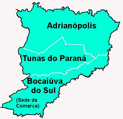 Comarca de Bocaiúva do Sul