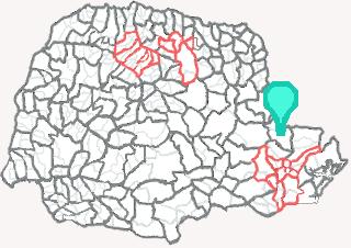 Comarca de Cerro Azul - Paraná