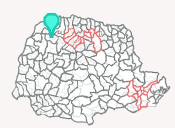 Comarca de Cidade Gaúcha - Paraná