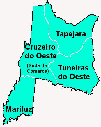Comarca de Cruzeiro do Oeste