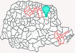 Comarca de Curiúva - Paraná