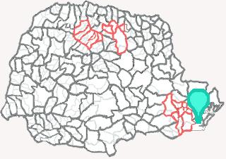 Comarca de Guaratuba - Paraná