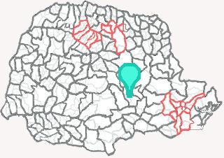 Comarca de Imbituva - Paraná
