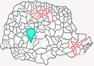 Comarca de Laranjeiras do Sul - Paraná