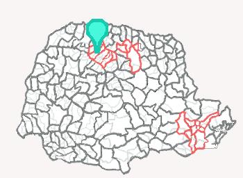 Comarca de Mandaguaçu - Paraná