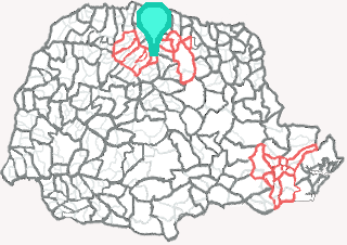 Comarca de Mandaguari - Paraná