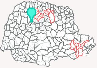 Comarca de Peabiru - Paraná