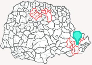 Comarca de Piraquara - Paraná