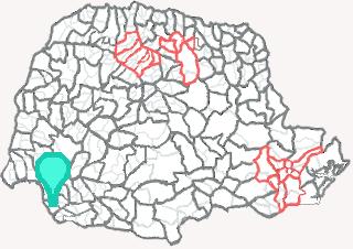 Comarca de Santo Antônio do Sudoeste - Paraná