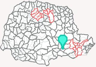 Comarca de São João do Triunfo - Paraná