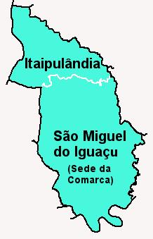 Comarca de S�o Miguel do Igua�u