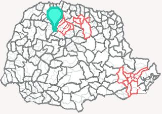 Comarca de Terra Boa - Paraná