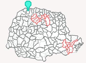 Comarca de Terra Rica - Paraná
