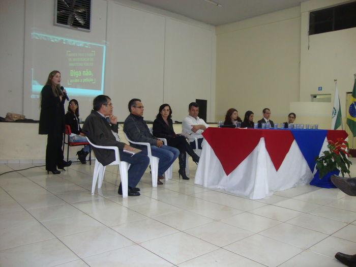 REGIÃO NORTE CENTRAL - População se reúne para discutir o combate à corrupção