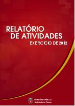 Capa Relatório de Atividades MPPR 2012