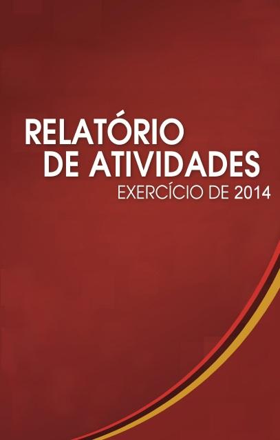 Capa Relatório de Atividades MPPR 2014